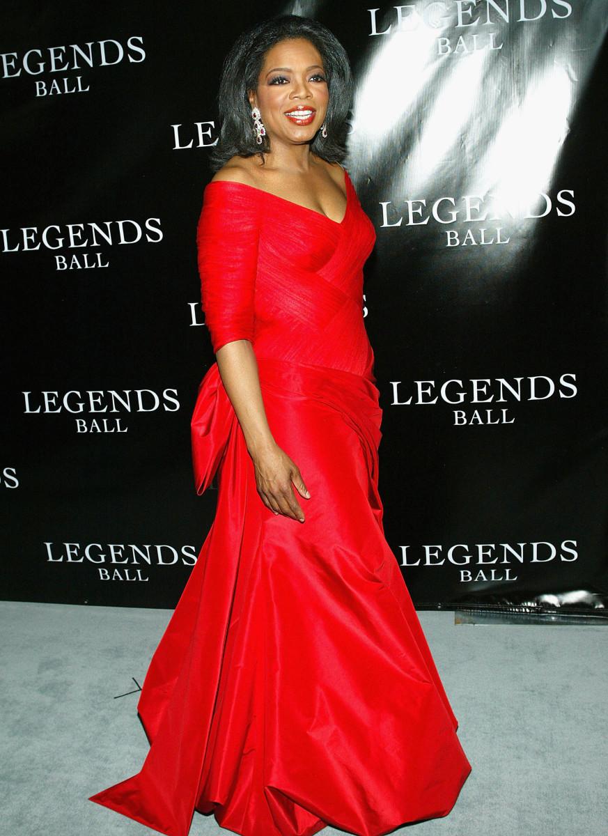 Oprah Winfrey attends the Legends Ball 2005