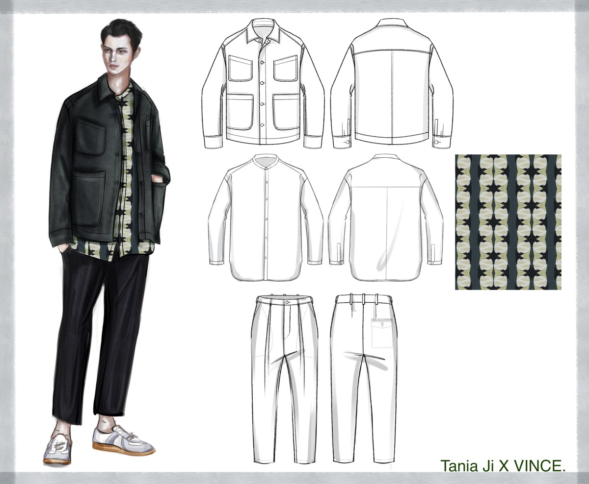 Sketches of Ji's Vince project