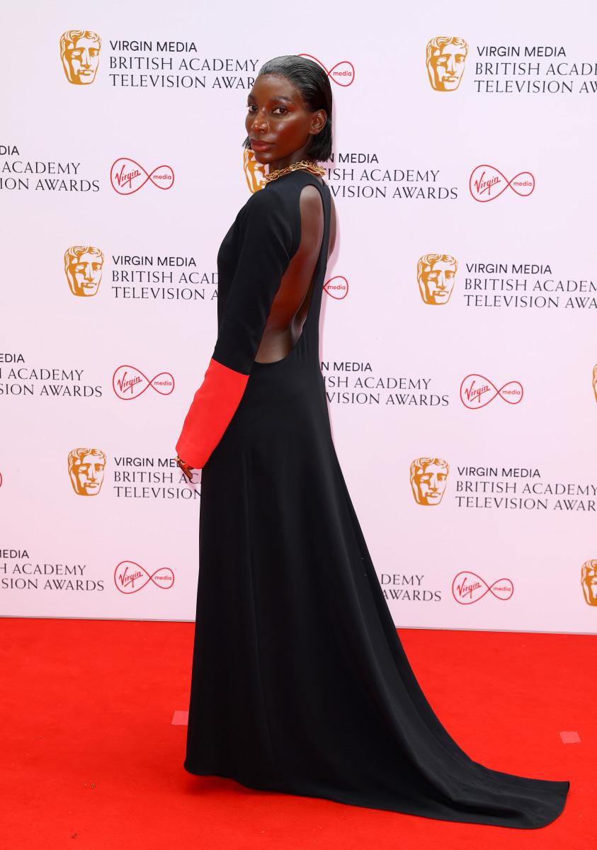 Michaela-Coel-Maximilian-BAFTA-TV-Awards-2021-5