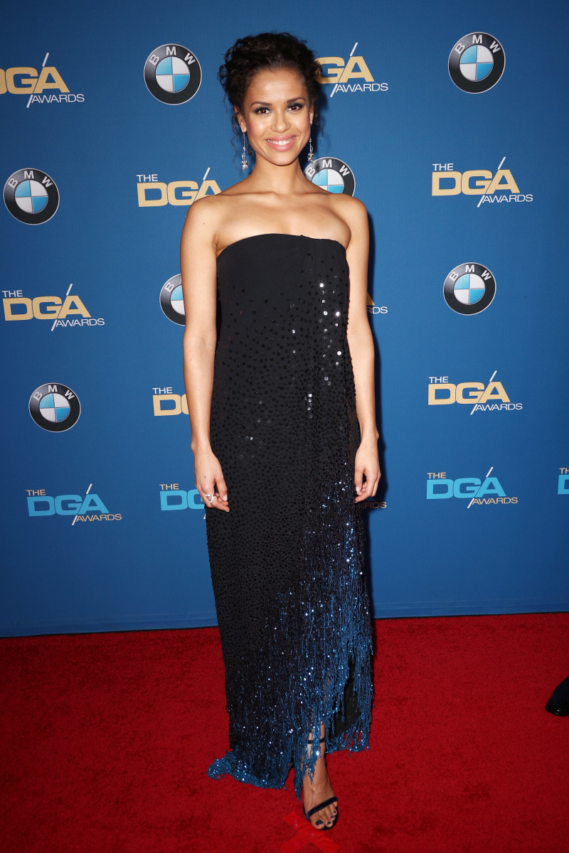 Gugu Mbatha-Raw attends the 70th Annual Directors Guild Of America Awards 2018