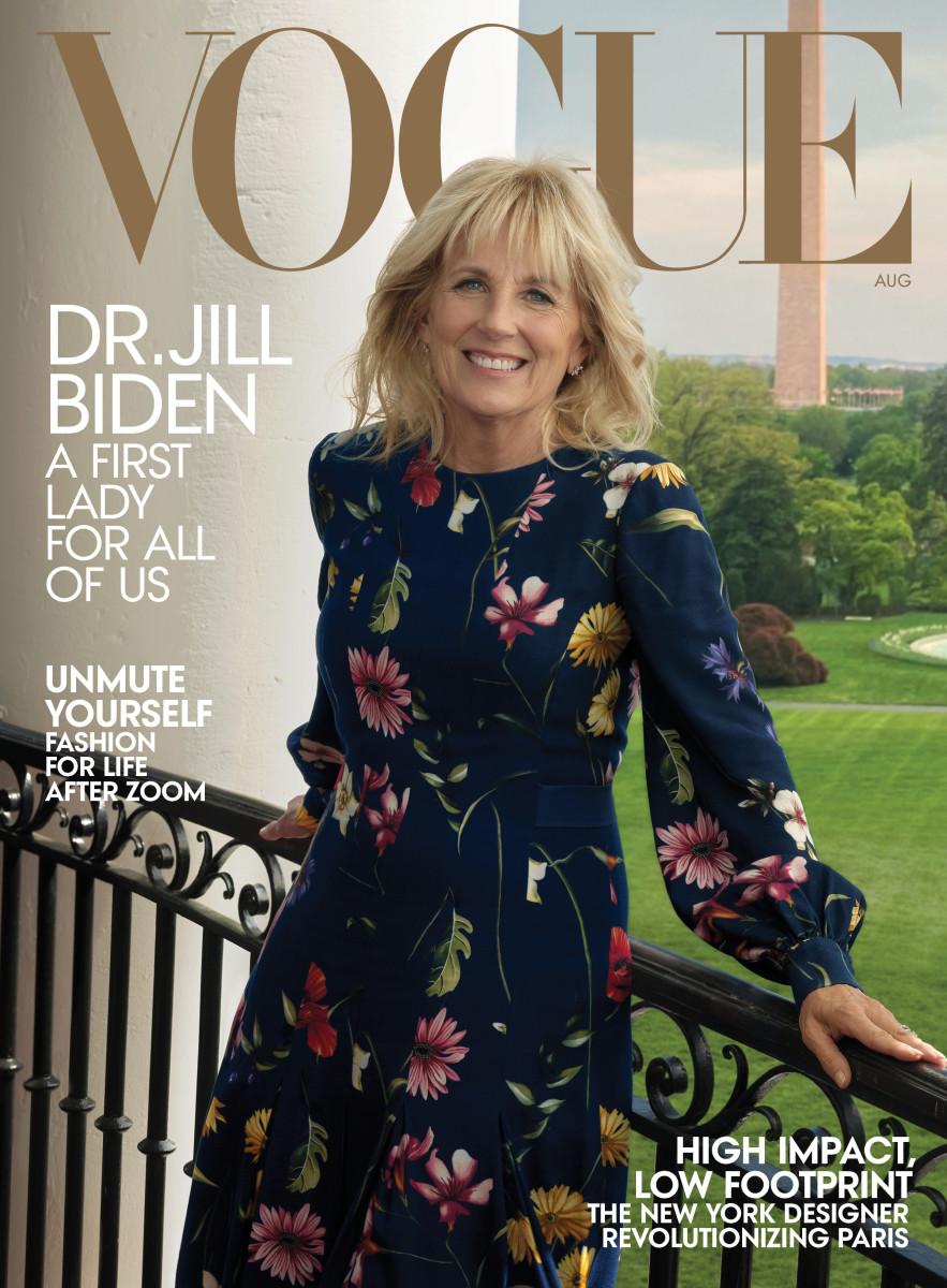 Vogue August 2021 Dr. Jill Biden Cover