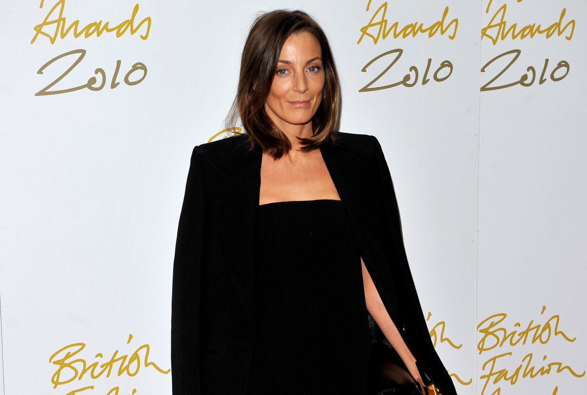 Phoebe Philo attends the British Fashion Awards at The Savoy on December 7, 2010