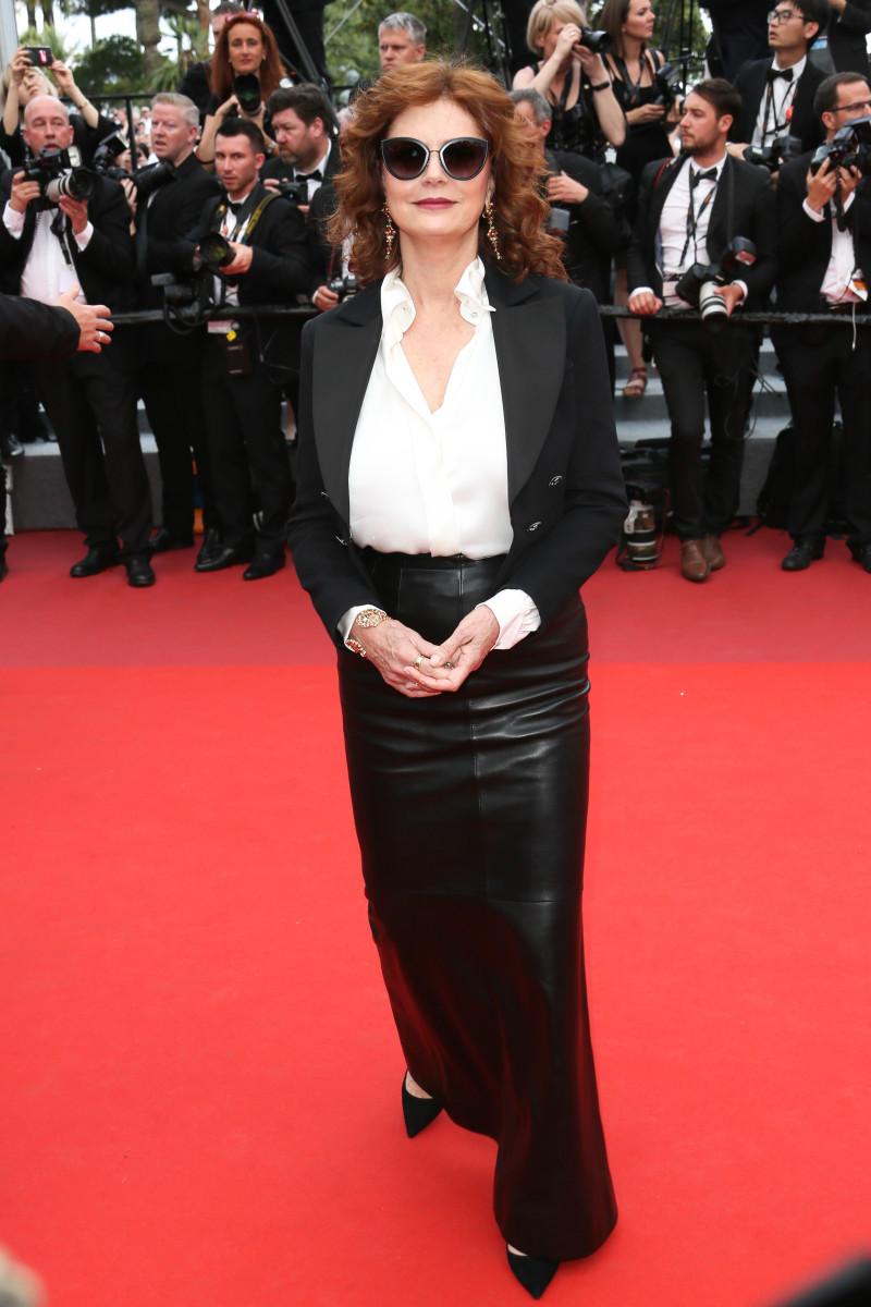 Susan Sarandon at the 2017 Cannes Film Festival.