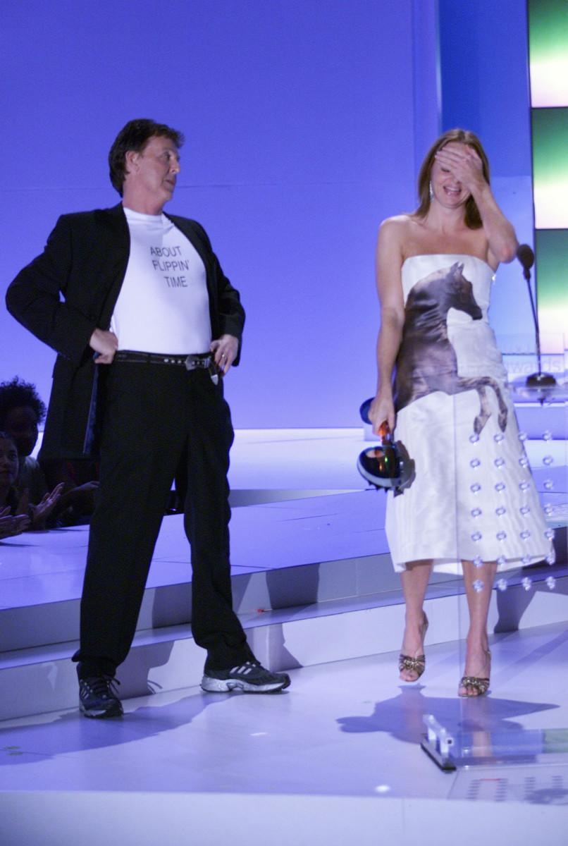 paul mccartney stella mccartney vh1 vogue fashion awards