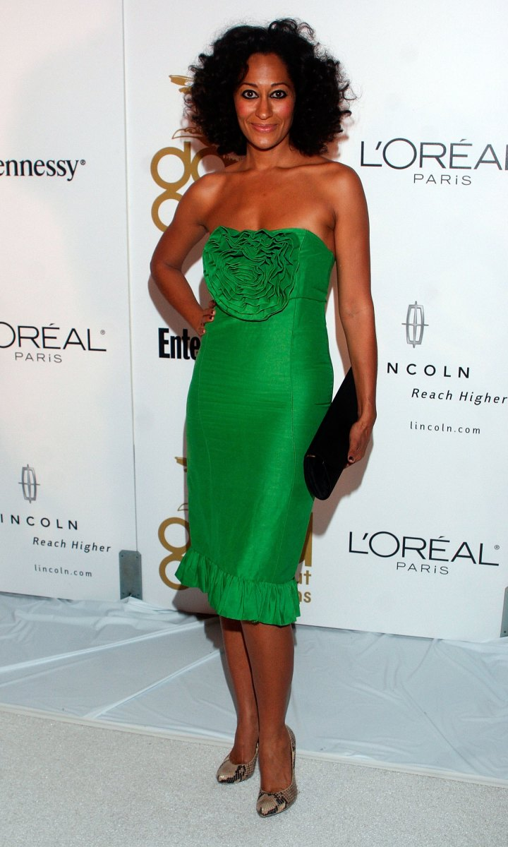 tracee-ellis-ross-green-dress-heavenly-grammy-after-party-2006