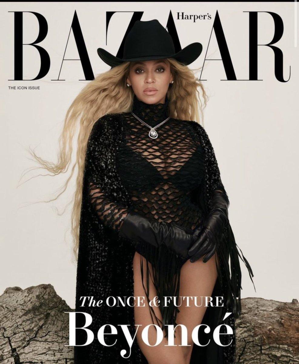 Beyoncé for Harper's Bazaar.