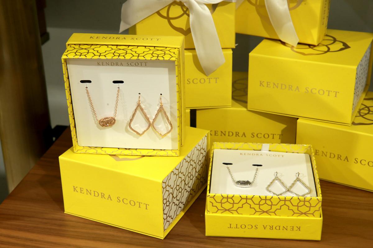 """""""My earrings are from Kendra Scott...."""""""