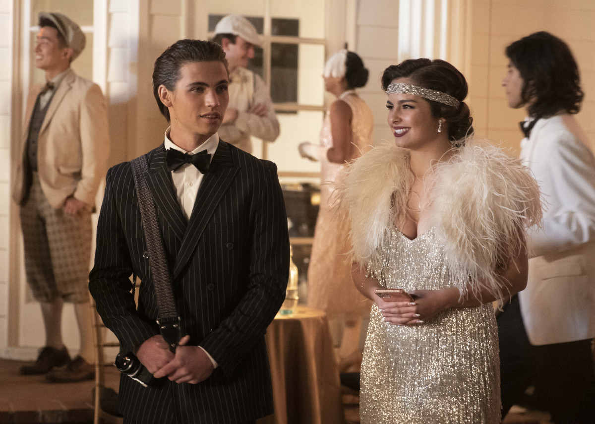 The after-Cameron (Tanner Buchanan) and Padgett channel Nick Carraway and Daisy Buchanan, the O.G. influencer.