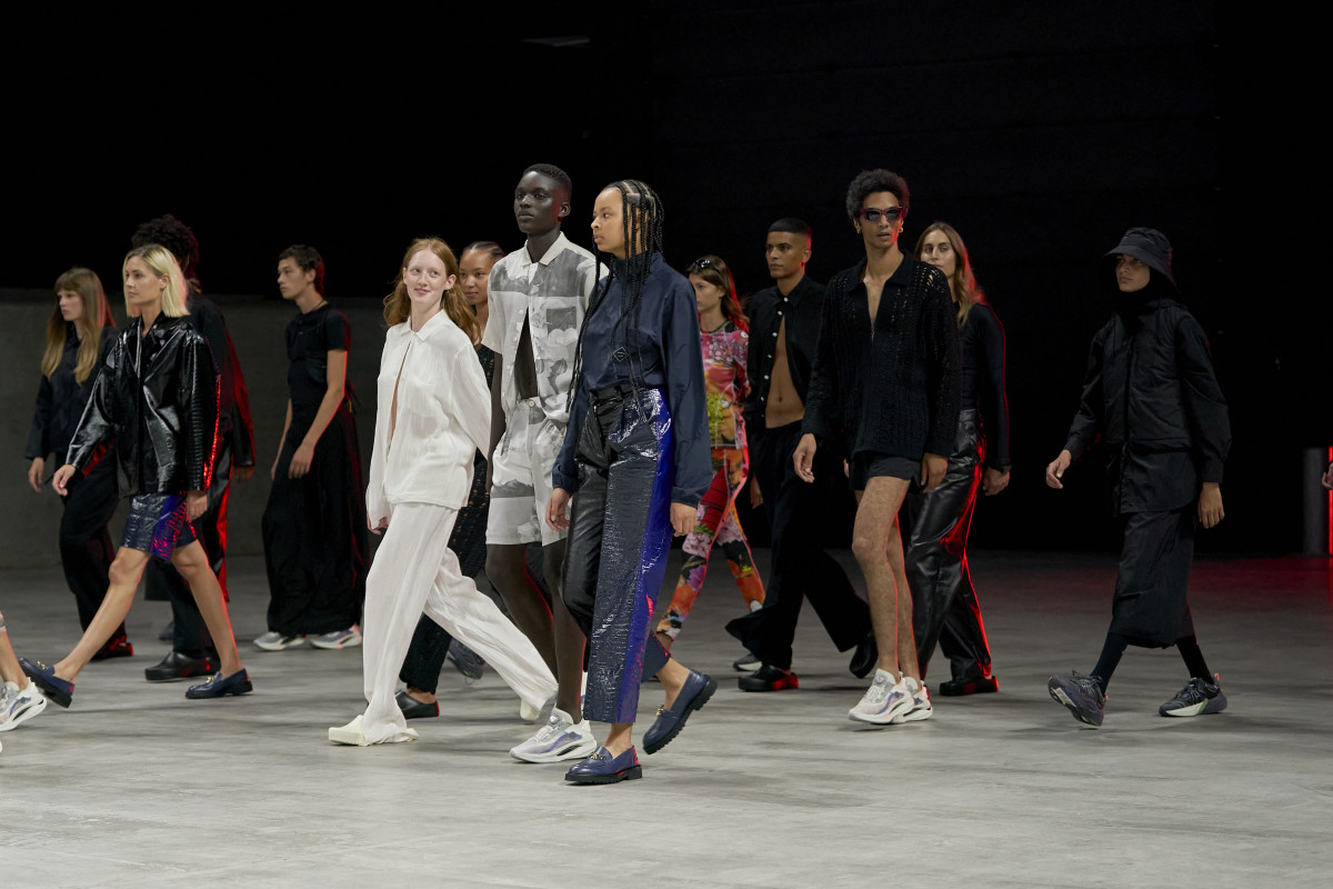 Soulland's Spring 2022 show during Copenhagen Fashion Week.