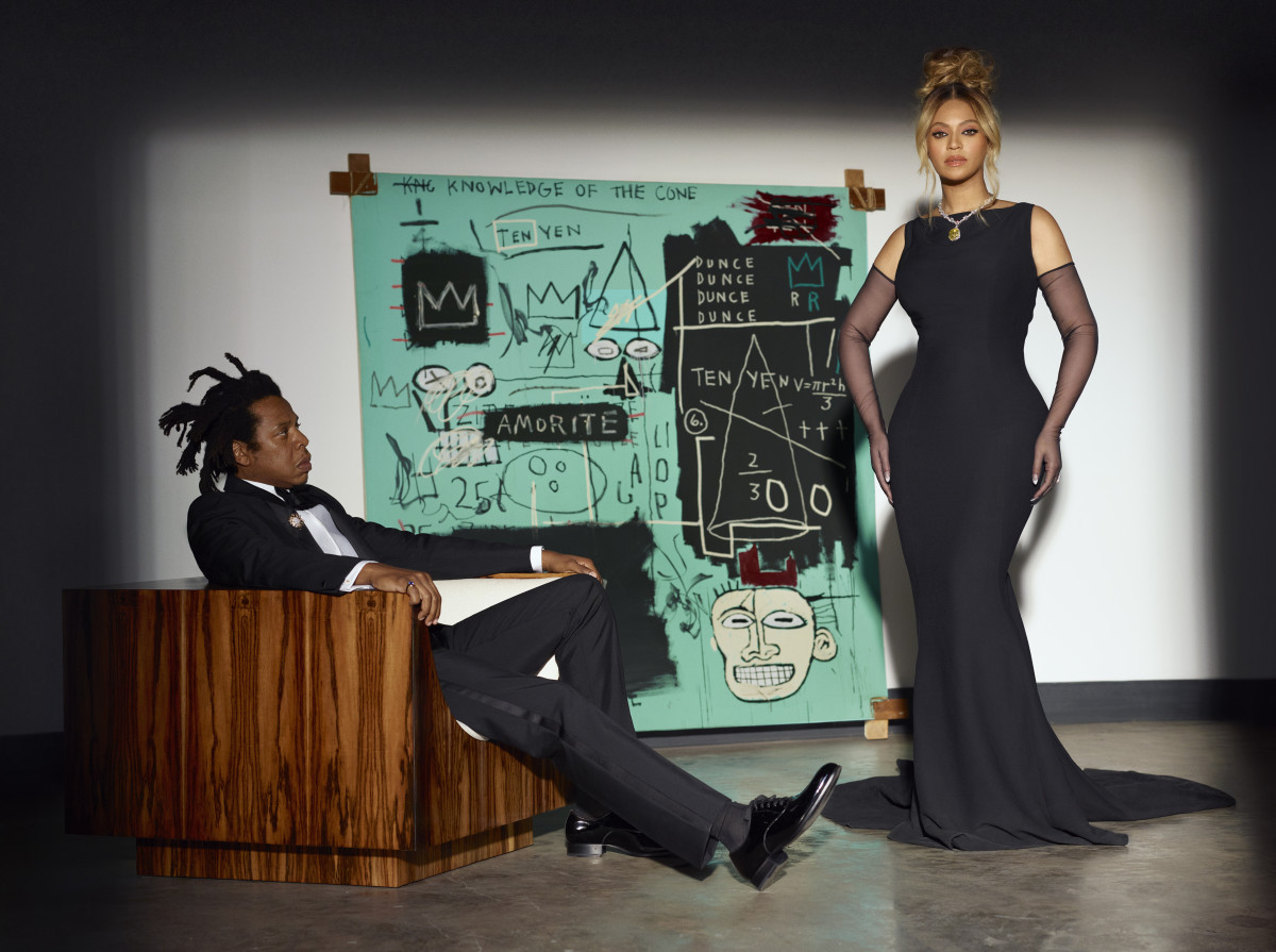 Beyoncé and Jay-Z for the Tiffany & Co. Fall 2021 About Love campaign.