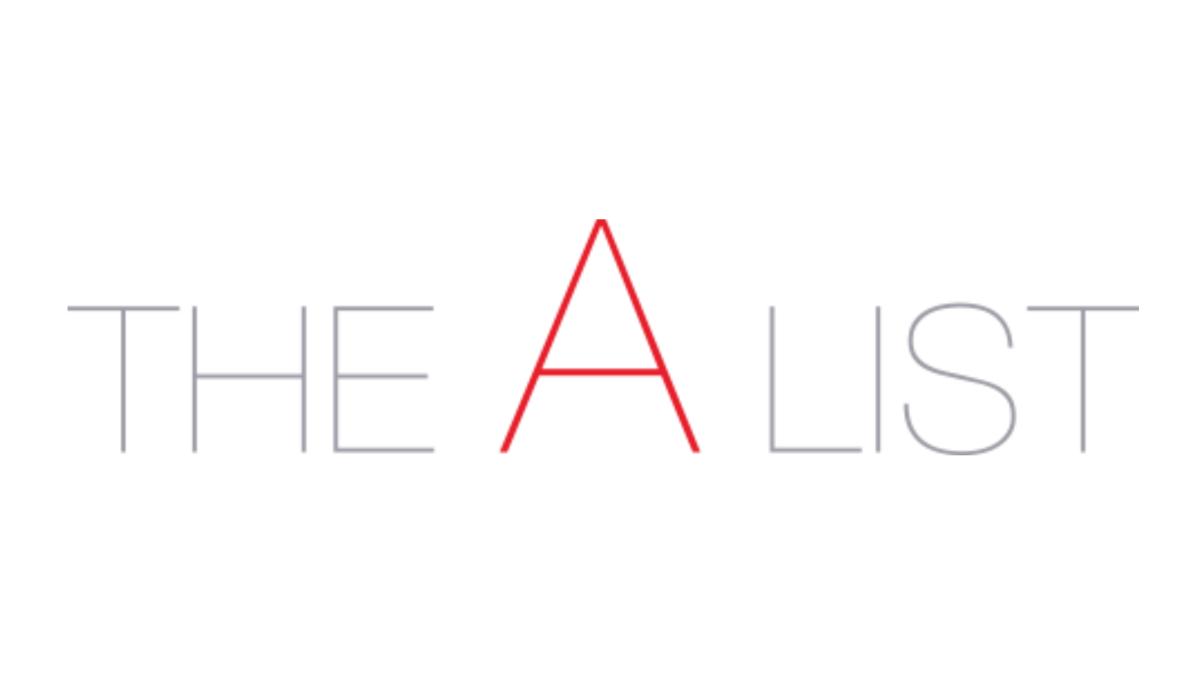The A List logo