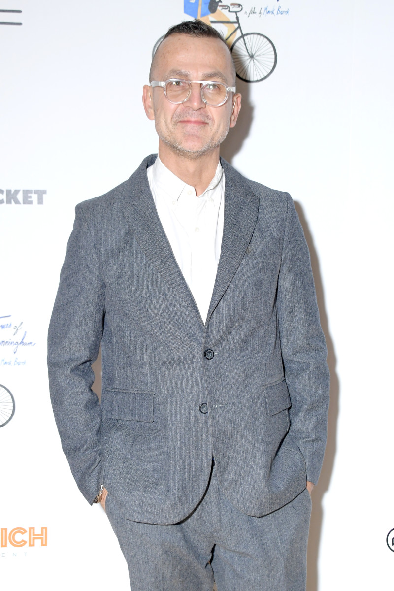 """Steven Kolb attends a New York screening of the documentary """"The Times of Bill Cunningham"""""""