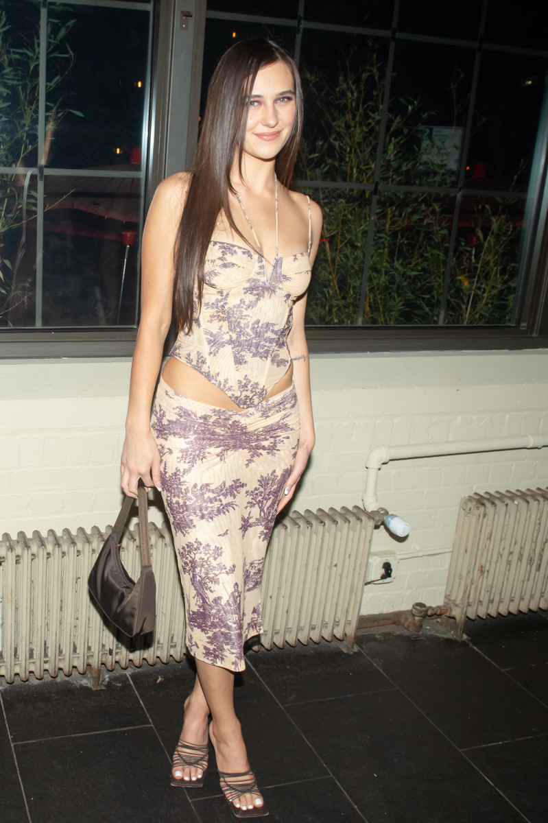 Carlson at the Miaou NYFW Dinner